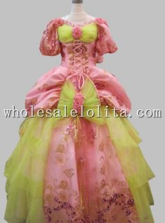 17 18th Century Marie Antoinette Baroque Rococo A Line Celebrity Prom Celebrity Pink Evening Dresses