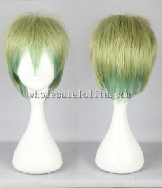 Cosplay Lolita Wig Mix Color Short Hair