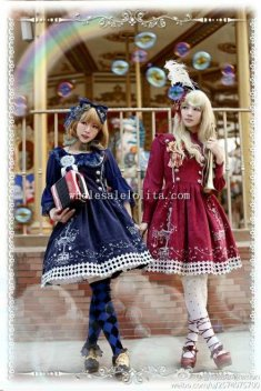 Infanta Gold and Silver Embroidered JSK Lolita Dress