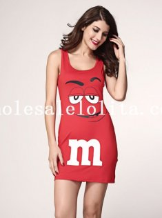 Cute M&M Dress