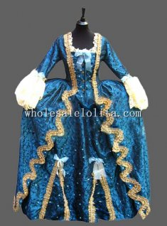 Deluxe Thick Pleuche Tradition CARNIVAL OF VENICE Costume for Couple