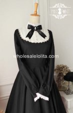 High-end Vintage High Collar Cotton Classic Lolita Dress