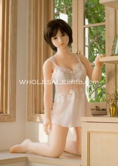 Mimic 1:1 Pretty Wife Full Silicone Semi-solid Inflatable Love Doll, 3D-eyes, Realistic Hands & Feet