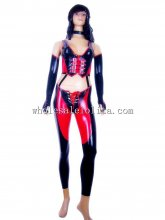 Movie Character Cosplay Costume Gothic Latex Halloween Costume