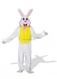 Adult White Easter Bunny Costume