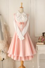 Versailles Pink Vintage Gothic Style Dress