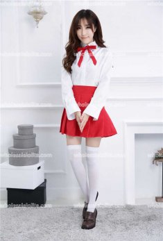 Lolita School Style Maid Sailor JK Costume