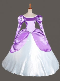 The Little Mermaid Disney Princess Ariel Stage Costume Ball Gown