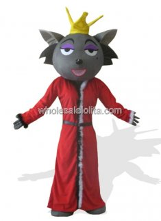 Popular Chinese Red Wolf Costume
