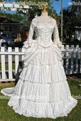 Christines' Wedding Gown from Phantom of the Opera...Custom Sizes and Colors Victorian Wedding Gown