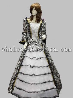 Top Sale 17 18th Century Marie Antoinette Halloween Costume Baroque Rococo Celebrity Dress