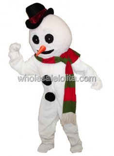 Cute Snowman Xmas Costume for Adult