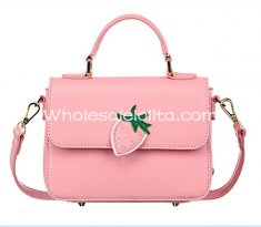 Sweet Pink Strawberry Ladies Mini Totes Bag Sweet Lolita Bag
