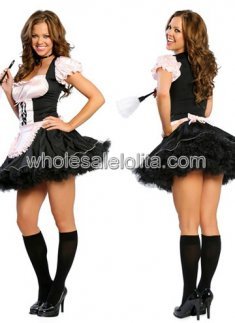 Classic French Maid Sexy Costume
