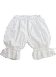 Top Selling Cotton White Lace Lolita Bloomers
