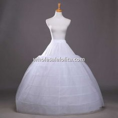 New 6-Bone Hoop Skirt
