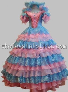 17 18th Century Marie Antoinette Rococo Princess Ball Gown Formal Prom Dress
