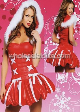 Sweet Princess Red Christmas Sexy Lingerie