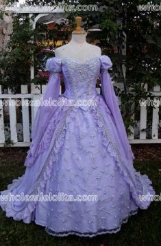 Sleeping Beauty Princess Fantasy Gown Evening Dress Custom Color and Size
