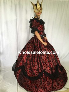 CUSTOM Victorian Civil War Ball Gown Dress Vintage Dress Holiday Dress