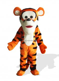 Tumble Time Tiger Plush Adult Mascot Costume