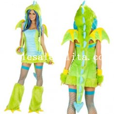 Halloween Dinosaur Animal Costume For Women