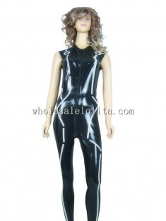 Movie TRON: LEGACY Character Quorra Cosplay Costume Latex Uniform