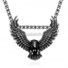Fashionable Platnium Eagel Chain for Versatile Occasions
