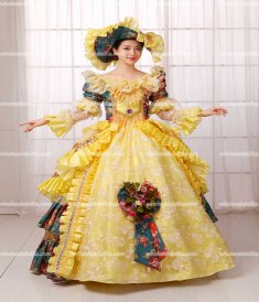 Rococo Style Marie Antoinette Inspired Prom Dress/Medieval Wedding