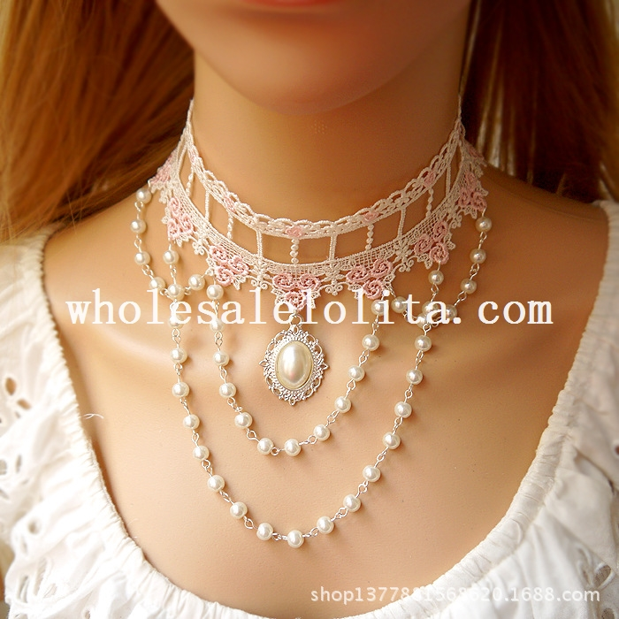 Универсальное ожерелье для выпускного вечера своими руками