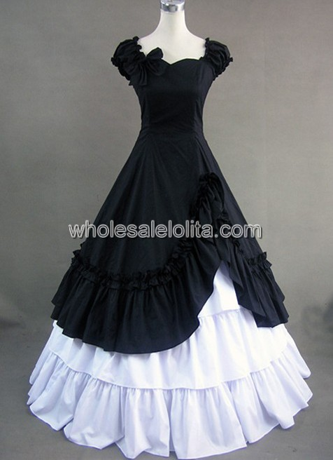 Gothic Victorian Dress|Victorian Dress|Civil War Southern Belle Gown ...