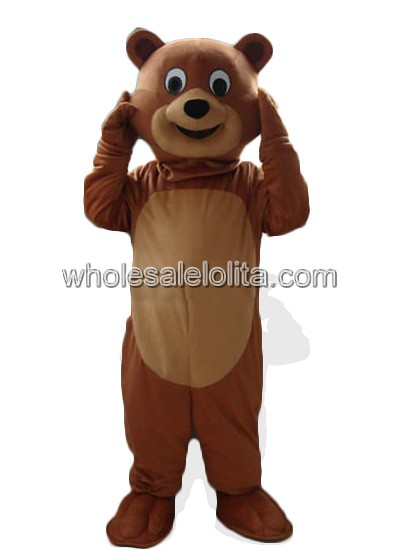 Adult Brown Bear Halloween Costume  sc 1 st  Wholesalelolita.com & Adult Brown Bear Halloween Costume - wholesalelolita.com