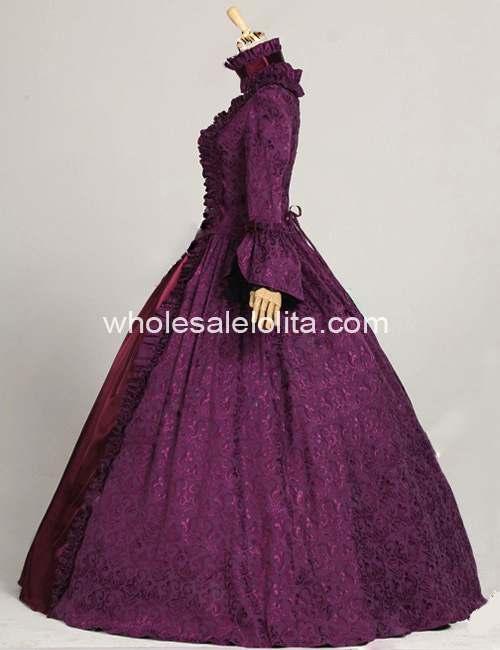 Victorian Ball Gowns|Evening Dress| Gothic Lolita Dress|Reenactment ...