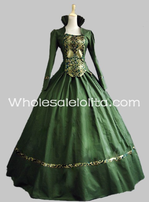 Green Gothic Dresses