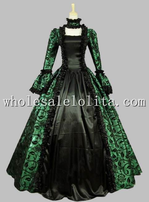 Victorian Gothic | Period Dress | Masquerade Ball Gown | Reenactment ...