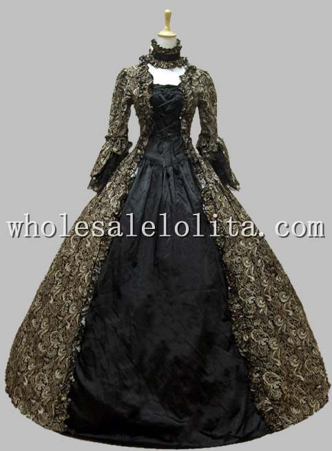 Victorian Costume|Victorian Ball Gown|Vintage Evening Dress ...