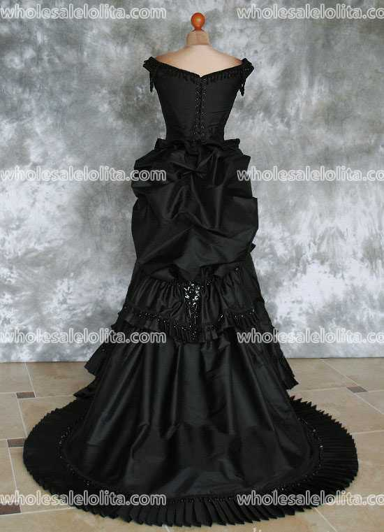 Gothic Victorian Bustle Gown with Train ~ Vampire Ball Masquerade ...