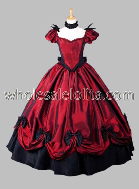 Victorian Gothic Period Dress | Masquerade Ball Gown | Reenactment ...